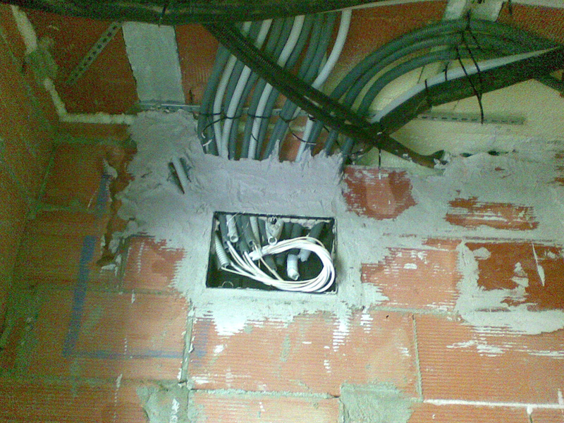 Cuadro eléctrico en Vilanova i la Geltrú