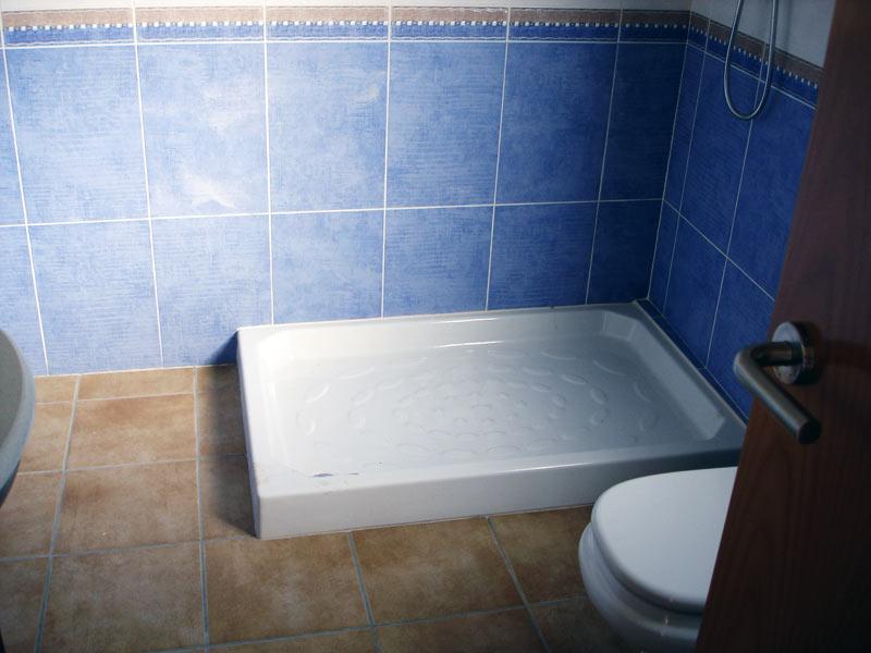 Substitución por plato de ducha
