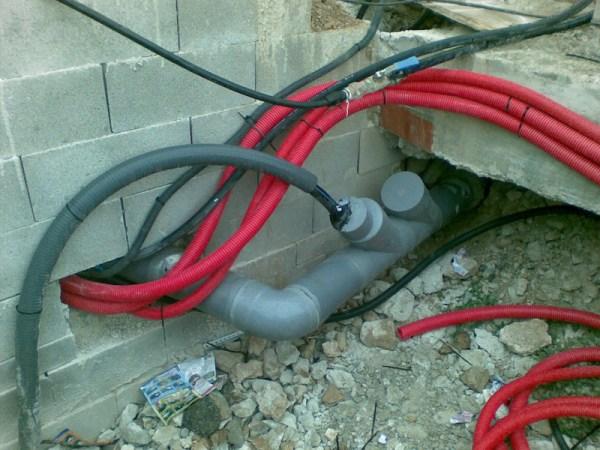 Instalación eléctrica, agua y gas
